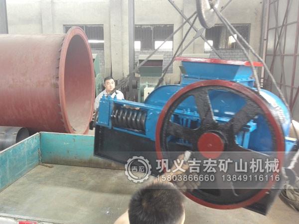 400X400对辊破碎机发往辽宁锦州12