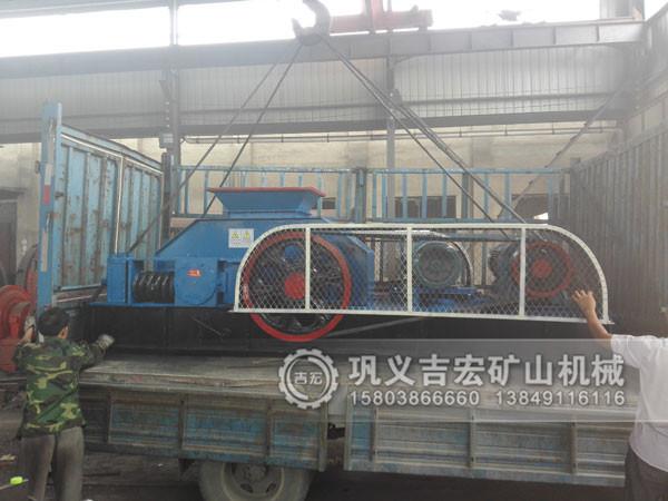 86对辊破碎机发往重庆13